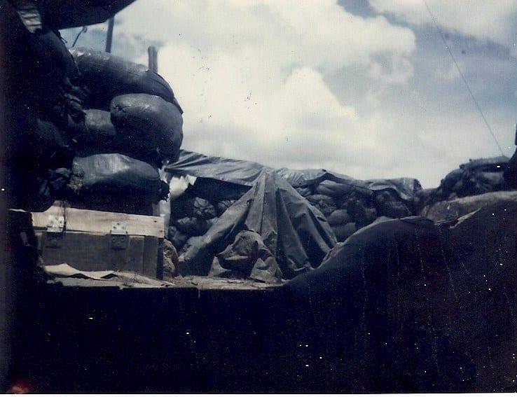 36_Motar_pit_as_seen_from_inside_9G_bunker_June70