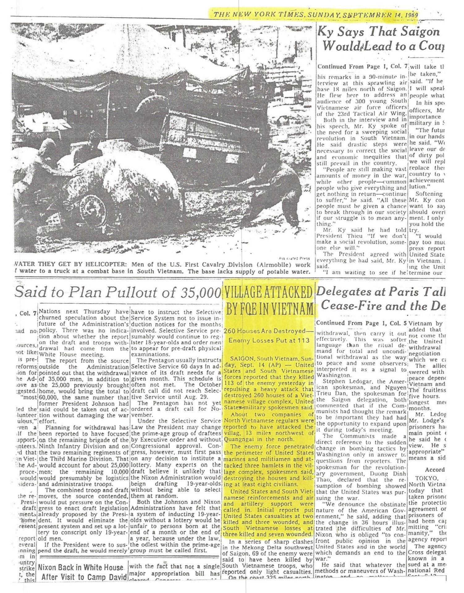 NY Times 091469
